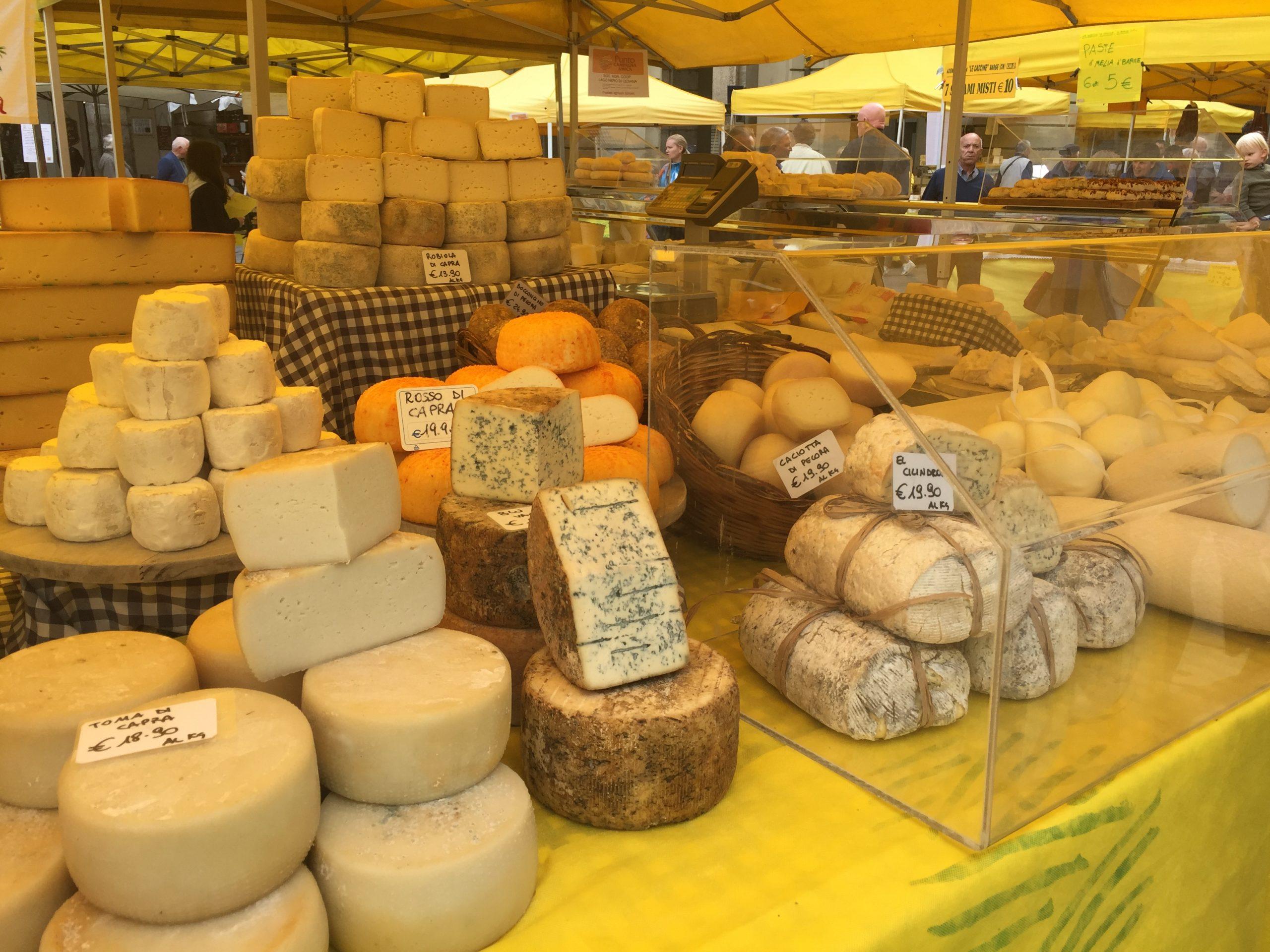 Biologische markt Turijn