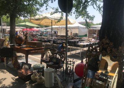 Broccantemarkt in Nizza